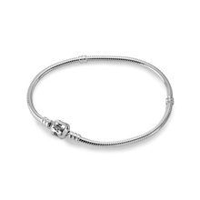 590702HV PANDORA SILVER BANGLE+ Gift Pandora Case