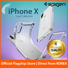 Spigen iPhone X iPhone 10 Case Casing Cover Screen Protector 100% Authentic Fast Delivery