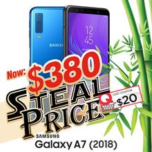 Samsung Galaxy A7 (2018) 4GB/ 128GB *1 Year SG Warranty