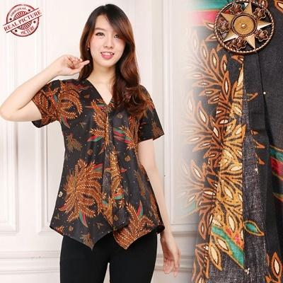 top blouse inaya batik shirt woman