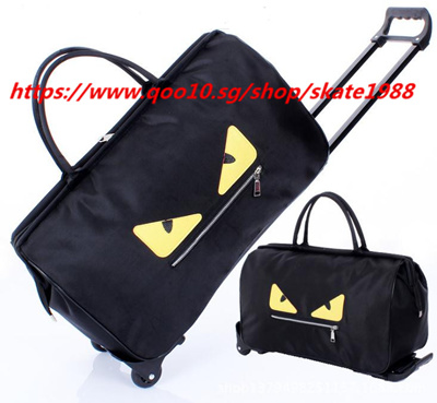 37273ec914339 Trolley bag Luggage bag Large capacity package Waterproof Folding  Travelling Bag Boarding Bag