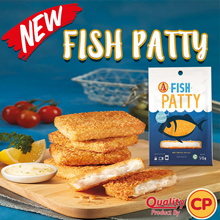 [AA] Fish Patty 312g. 6 pcs. Quality Brand by CP.