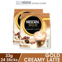 NESCAFE Gold Creamy Latte 12 Sticks 33g x2 packs