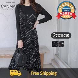 [CANMART] C022023 Korean Premium Women Fashion Shop / Resonable Price / Dress / Blouse / S