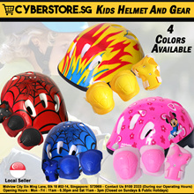 Helmet Safety Gear Kid Scooter Skate Scooter Outdoor Toys Children School Bag Kick Scooters Minion