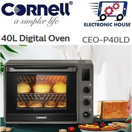 ★ Cornell CEOP40LD 40L Digital Electric Oven with Accurate Temperature Control ★ (1 Year Warranty)