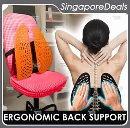 iWaist BACK SUPPORT LUMBAR SUPPORT FOR OFFICE CHAIR CAR SEAT ERGONOMIC CHAIR