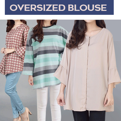 [13/09] Women Big Size Blouse Deals for only Rp49.000 instead of Rp49.000
