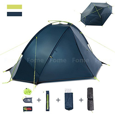 C&ing Tent iDeep PU4000mm Outdoor C&ing Tent Backpacking Tents 2 Person Lightweight Windproof R  sc 1 st  Qoo10-Malaysia & Qoo10 - Camping Tent iDeep PU4000mm Outdoor Camping Tent ...