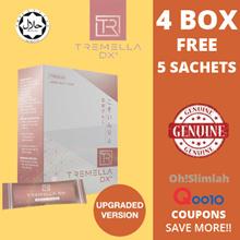 ★【CHEAPEST - 4 BOX FREE 5 SACHETS Upgraded Tremella-Dx+ Detox 日本排毒酵素 (16 Bags x 20gm)