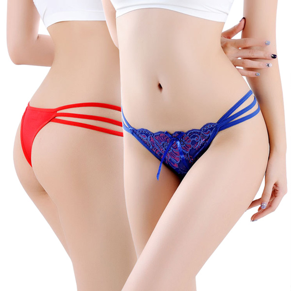 3D embroidered sexy lace lingerie panties underwear briefs for girl lady woman Deals for only S$5 instead of S$0