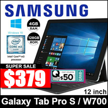 [Demo Set] Samsung Galaxy TabPro S  / 12inch / Wi-Fi only / 128GB GB / Windows 10 / Tablet only
