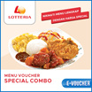 ☆Lotteria☆ Special Combo ☆ Only Qoo10 Big Discount Deal ☆ Mobile voucher only