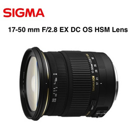 ★New★ Sigma 17-50 mm F/2.8 EX DC OS HSM Lens For Canon/Nikon Free Shipping from Japan!!