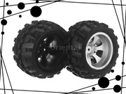 Remote Control Toys Rc Car Right Tire for Wltoys A979 1/18 Rc Car Right Tire A979 02 Part for Wltoys