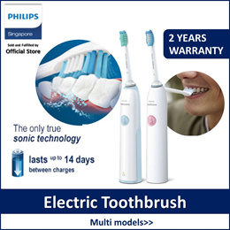 Philips HX3415/06 | HX3215/08 Sonicare TBD Sonic Electric Toothbrush