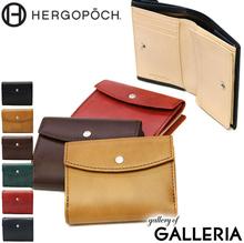 9a5704b6795c  Authorized dealer  Elgopoke HERGOPOCH Wallet 06 Series folding card  compact leather men   39s