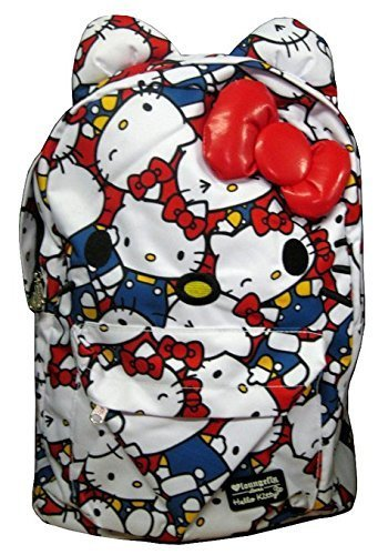 657508af43 Qoo10 - Loungefly Hello Kitty Large Face All Over Print Classic ...