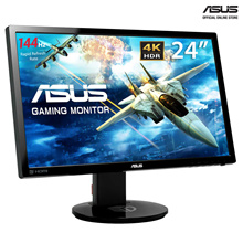 ASUS VG248QE Ultimate Fast Gaming Experience with 144Hz Refresh Rate and 1ms Response Time