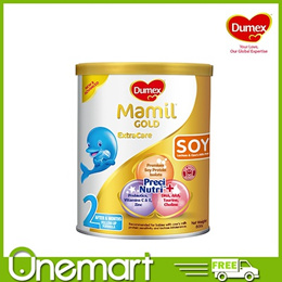[DUMEX]  Mamil Gold Soy Step 2 400g ★Special Offer 1 FOR 1 (EXPIRES MAR 2018)