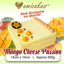 [Emicakes] NEW! Mango Cheese Passion♥ 500G Cake ♥