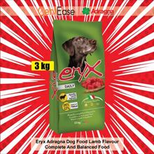 Eryx Adragna Dog Food Lamb Flavour - 3kg | Complete And Balanced Food