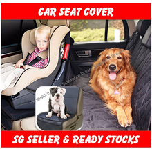 Premium Pet Car Seat Cover For Cars / MPV / SUV With WaterProof / NonSlip / Scratch Proof Cat / Dog