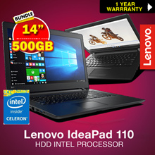 NEW! Lenovo IdeaPad 110 -14IBR 80T6 | 5IBR (N3060) 4GB RAM 500GB HDD INTEL PROCESSOR. BEST VALUE