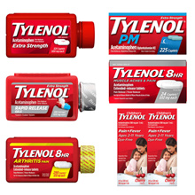 [Tylenol] Antipyretic analgesic Kirkland [acetaminophen] + Comprehensive cold medicine collection [Free Shipping]