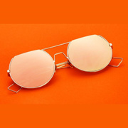 Luxury Half Round Sunglasses [DDS]