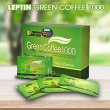 Leptin Green Coffee 1000 Original kopi diet pelangsing original