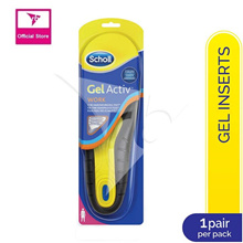 Scholl GelActiv Insoles Work - Female