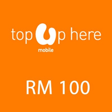 Umobile instant Top UP RM 100