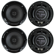 ( USPS 3 to 5 Working  Days Fast shipping )   4 speakers New Kenwood KFC-1665S 6.5 Inch 600 Watt 2-W