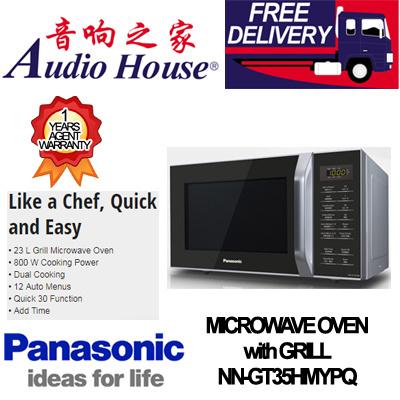 PanasonicPANASONIC NN-GT35HMYPQ 23L MICROWAVE OVEN with GRILL**1 YEAR  PANASONIC WARRANTY**