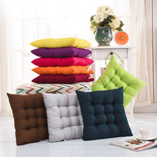 Soft Comfortable Seat Cushion Winter Spring Home Office Bar Chair Cotton Cushions Home Decor Square