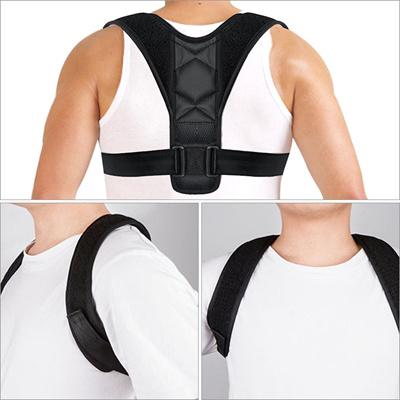1ce3f9a6874 Adjustable Upper Back Posture Corrector Clavicle Support Belt Spine Support  Shoulder Brace Posture