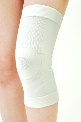 bonbone knee supporter lineup supporter (for general use) knee white L