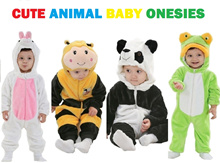 ♥ New Arrivals ♥ Cute Animal Baby Onesies/Pyjamas/Romper/Bodysuit/Jumpsuit for Newborn to 24 months