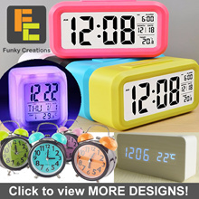 [FUNKY CREATIONS] ALARM DIGITAL SMART CLOCK LED WITH TEMPERATURE SENSOR
