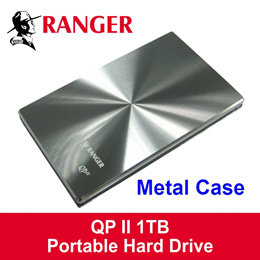 RANGER QP-II 2.5 Inch Portable External Hard Disk Drive -1TB / 3 Years Local Warranty