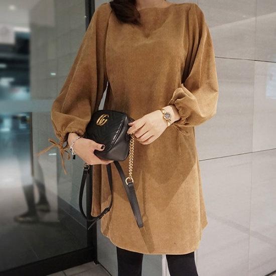 モニカルーム、ゴールデンopsワンピースM 綿ワンピース/ 韓国ファッション