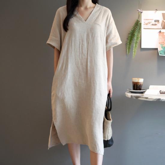 ガールズデイリーヘルネヤンブイワンピース 綿ワンピース/ 韓国ファッション