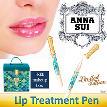 ★FREE SHIPPING★   Anna Sui Lip Treatment Pen + FREE Makeup Box. LIMITED EDITION SET.
