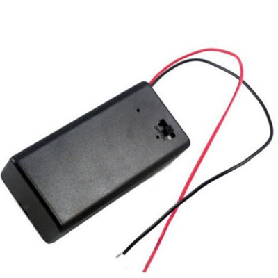 9V Battery Holder with ON//OFF Switch 9 volt Box Pack Power Toggle CN