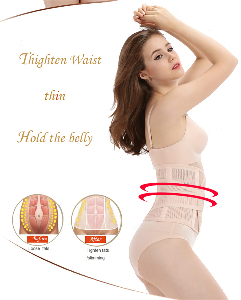 b9aa5537261 actual size. prev next. 2 for free shipping Maternity postpartum belt  bandage slimming corset Women ...