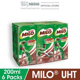 MILO ACTIV-GO RTD 6 Packs 200ml Each