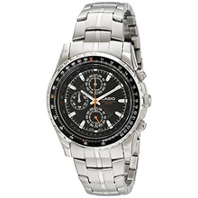 [In Stock] Casio Mens MTP4500D-1AV Slide Rule Bezel Aviator Stainless Steel Watch