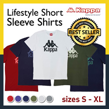 [GSS Sales] Kappa Classic T-shirt | Lifestyle Short Sleeve Shirts Colours available | Official Store | Sizes S - XL