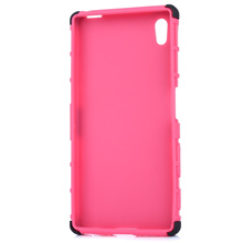 [2 IN 1 SMART PHONE COVER FOR SONY Z5] 2 IN 1 SMART PHONE COVER PROTECTIVE CASE FOR SONY Z5 [PINK]